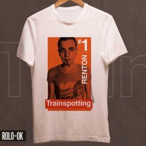 Trainspotting y su personaje principal Renton camiseta rolo-ok